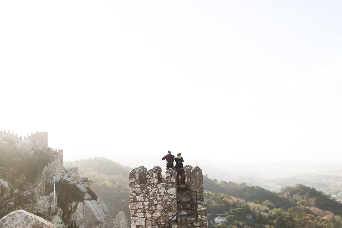 sintra couples shoot, sintra engagement shoot, moorish castle sintra