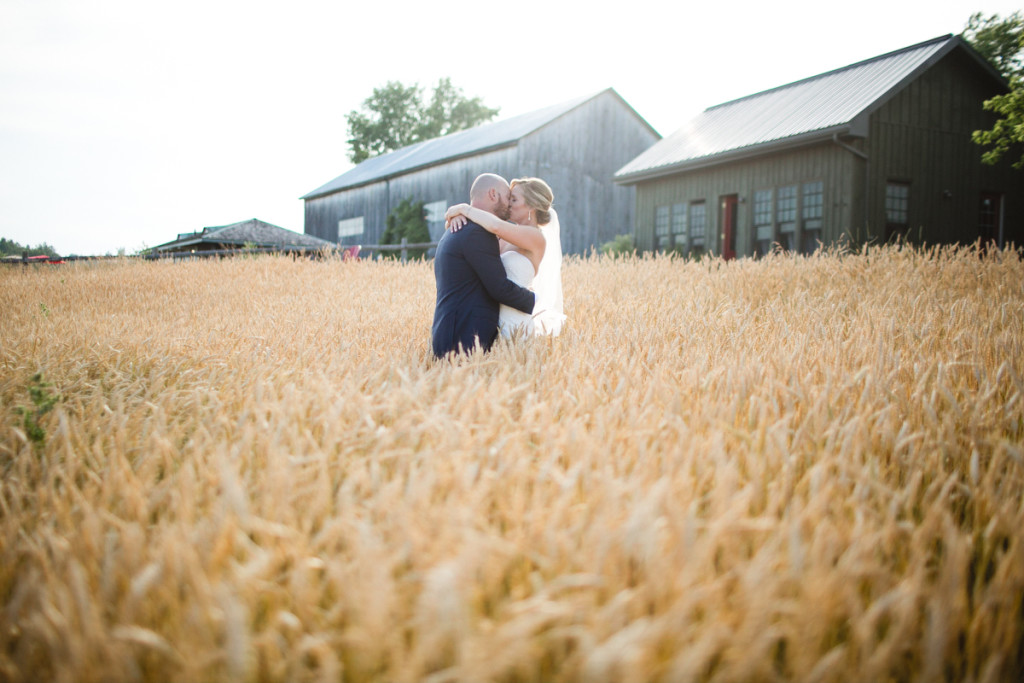 beautiful farm wedding ontario