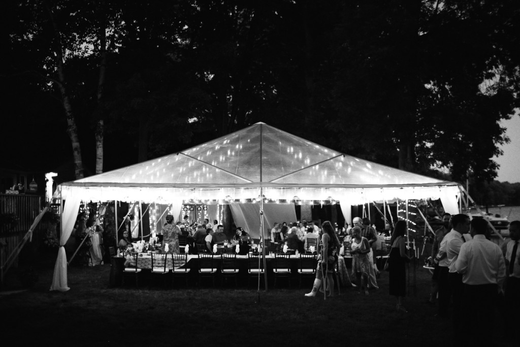 ottawa clear tent wedding