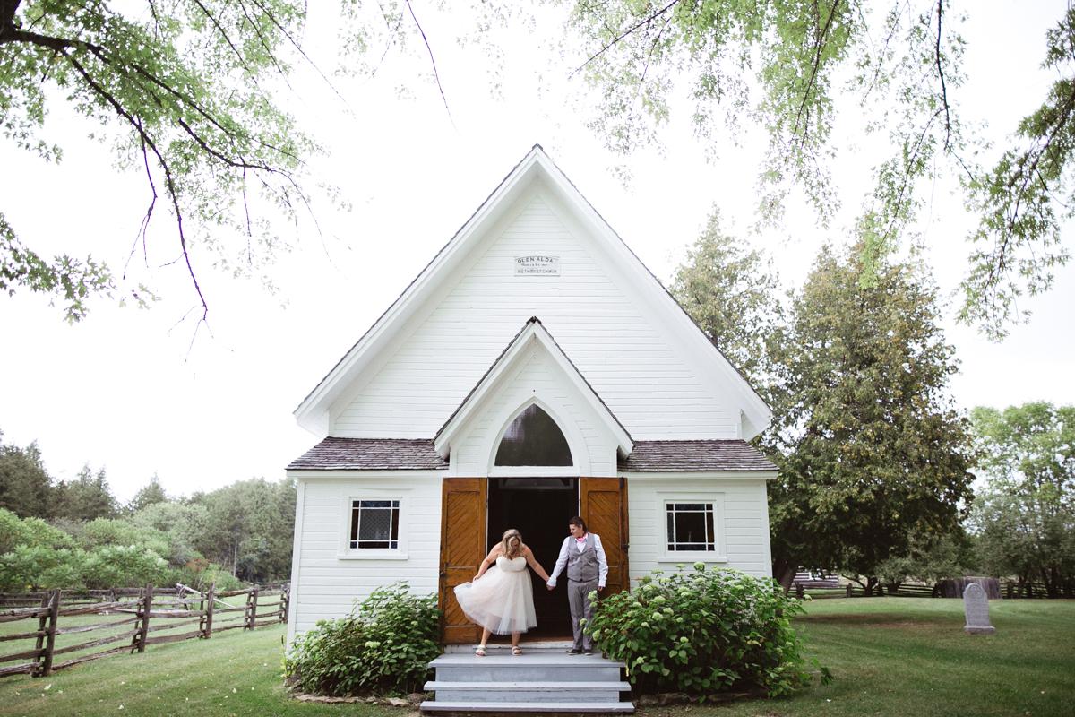 quebec chapel wedding