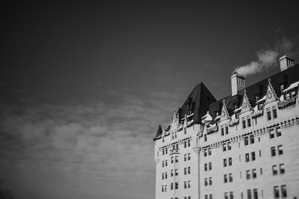 fairmont chateau laurier engagement