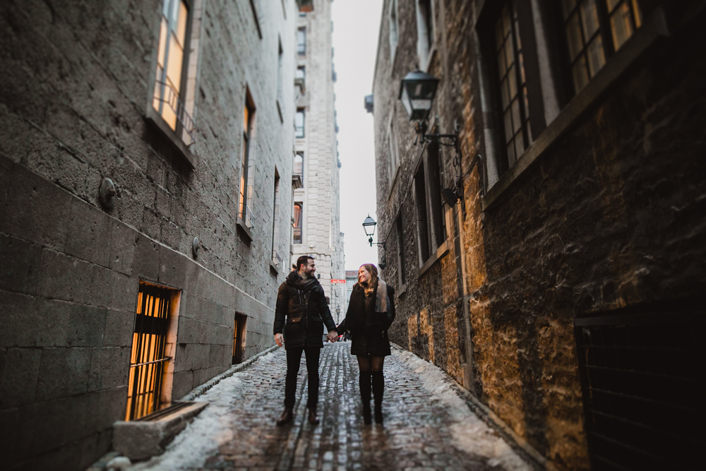 Old Montreal Engagment
