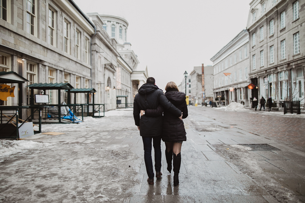 Old Montreal Engagement