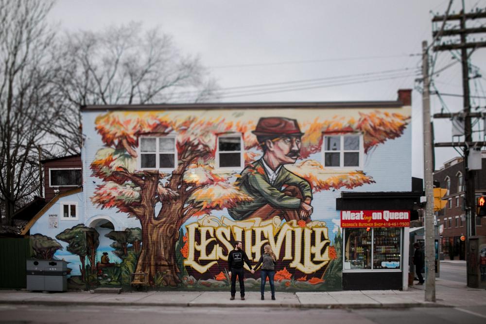 Leslieville Engagement