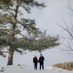 Ottawa Winter Engagement Shoot