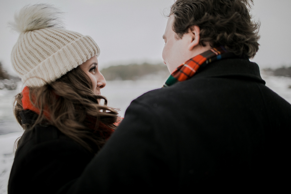 Ottawa Winter Engagement Shoot