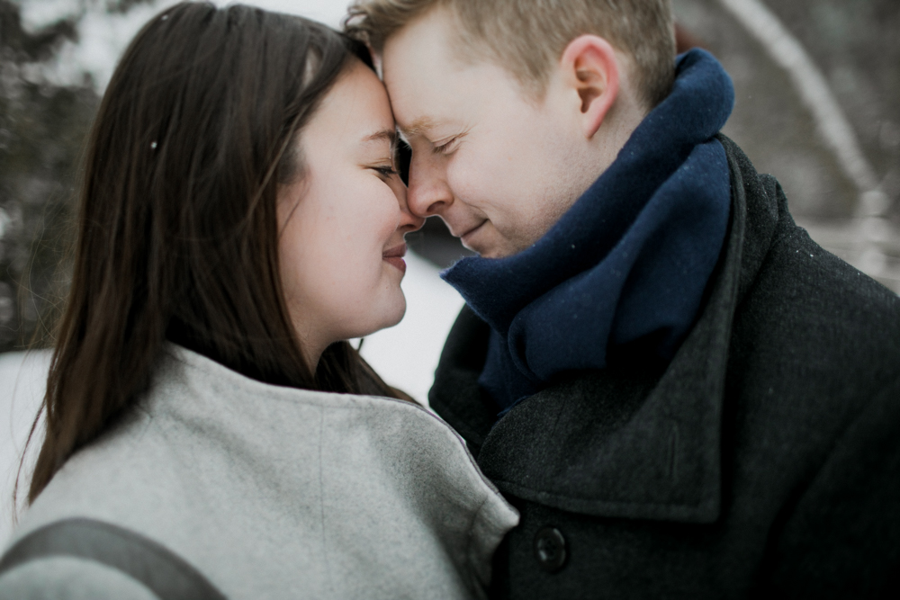 Wakefield Quebec Engagement shoot