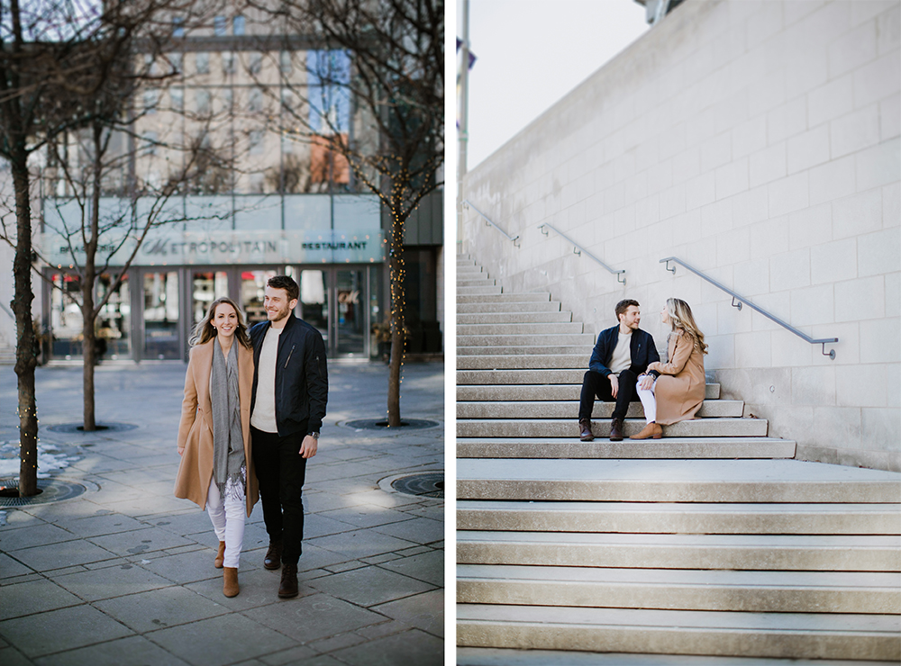 Downtown Ottawa Engagement Shoot