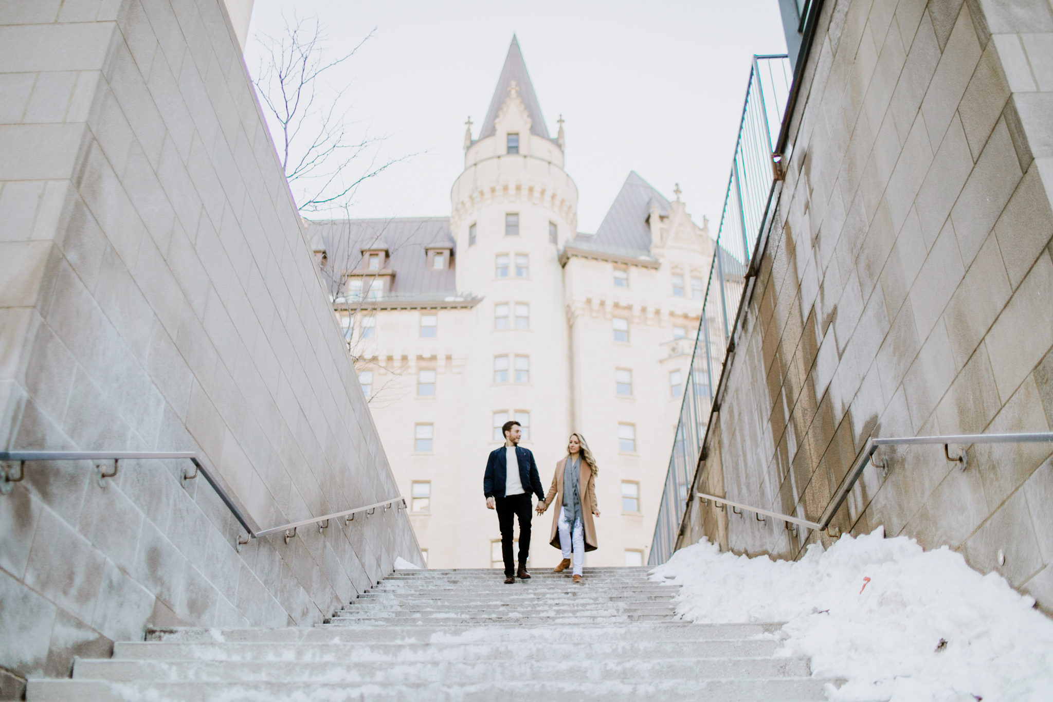 Fairmont Chateau Laurier Ottawa Engagement