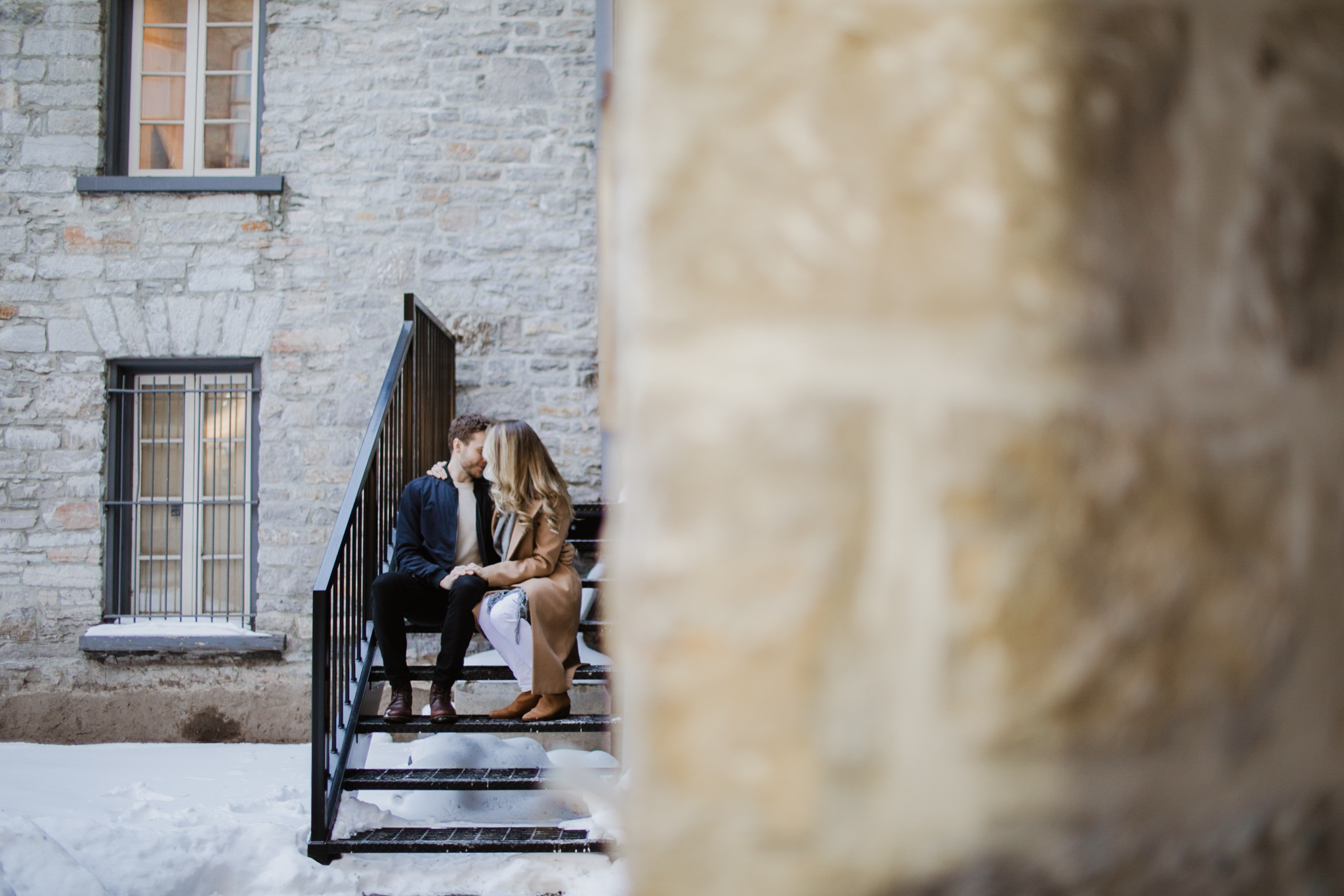 Ottawa Courtyard Restaurant Engagement