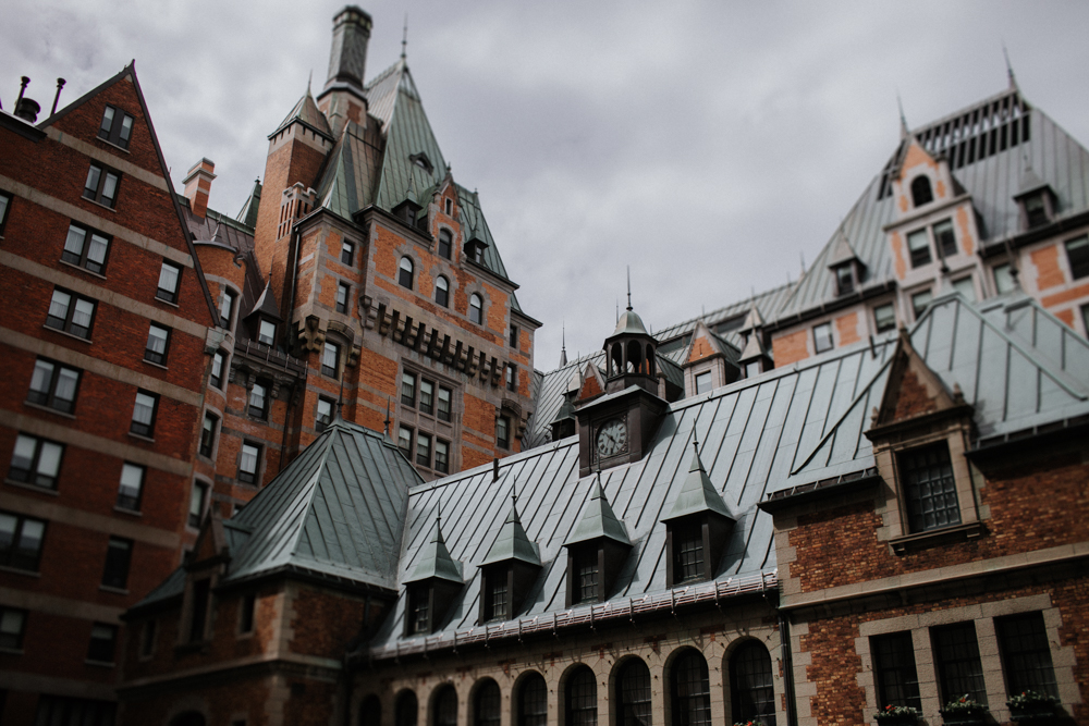 Chateau Frontenac destination Wedding