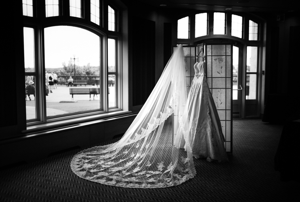 Wedding Dress Chateau Frontenac