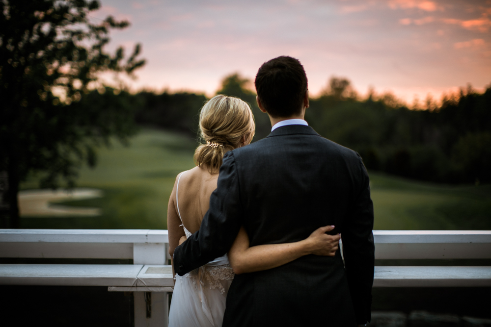 sunset ottawa wedding
