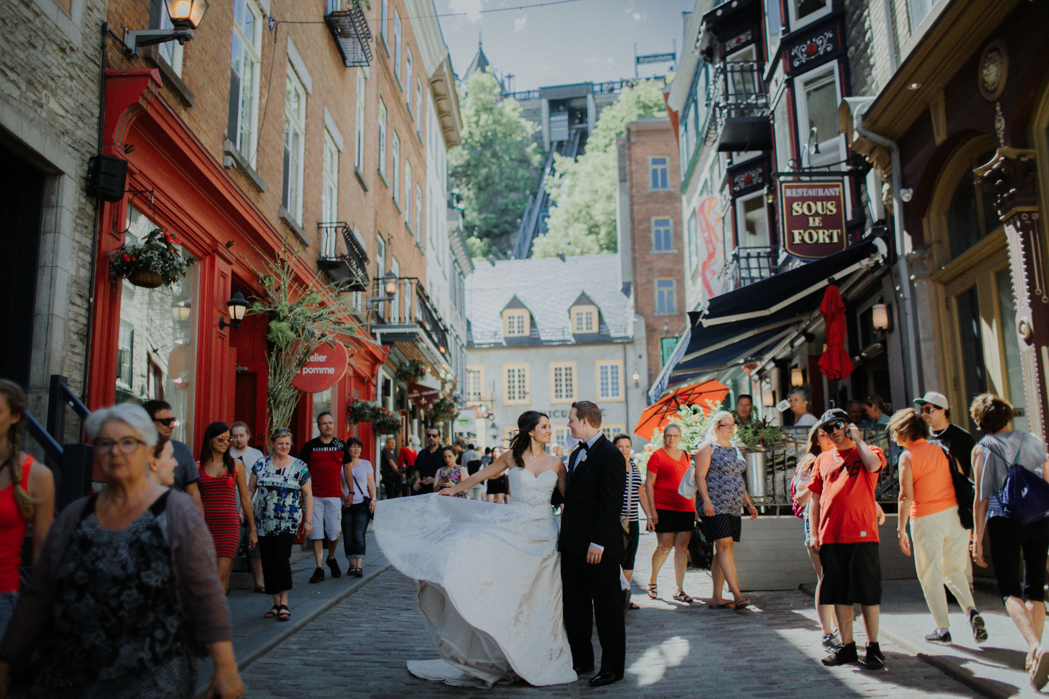 Chateau Frontenac Quebec City Wedding