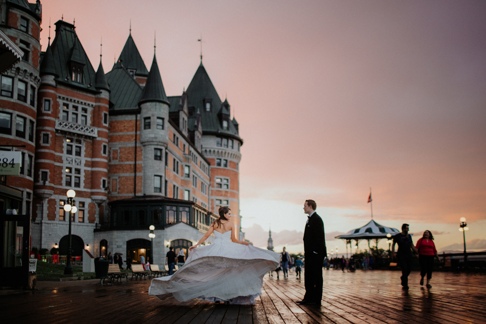 Fairmont Le Chateau Frontenac photographer
