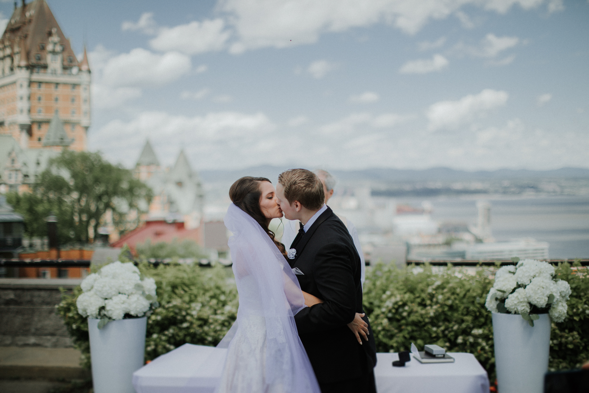 Terrace Pierre-Dugua-de-Mons wedding quebec city