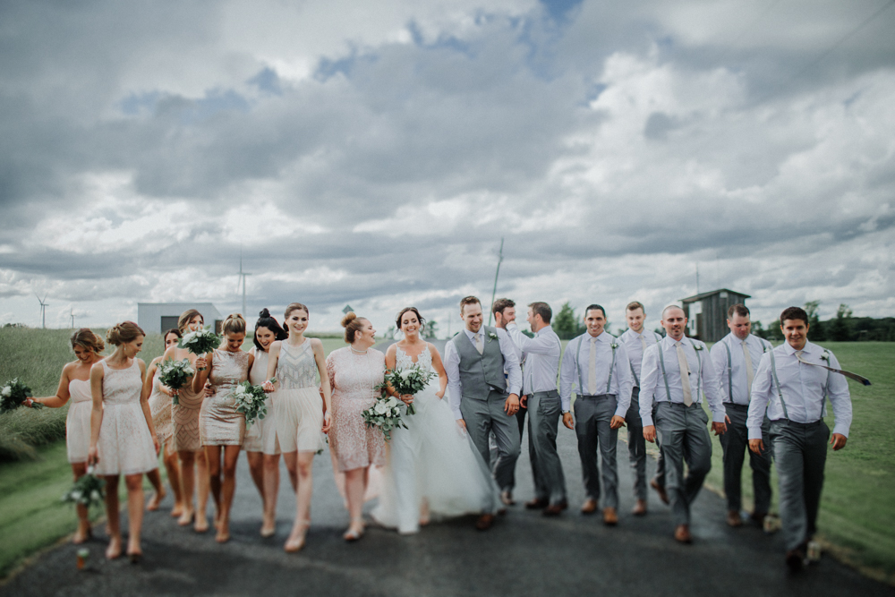 Wolfe Island Kingston wedding photographer