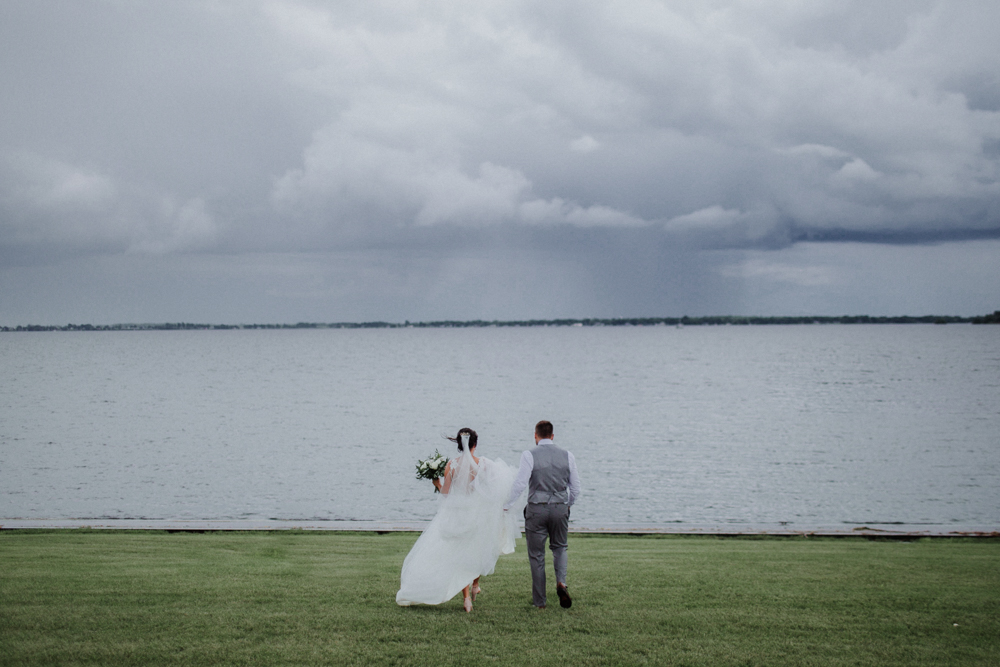 Wolfe Island wedding