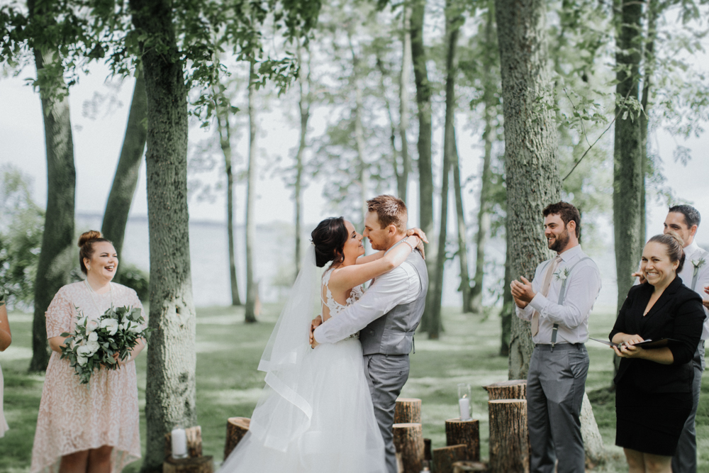 Wolfe Island outdoor Wedding