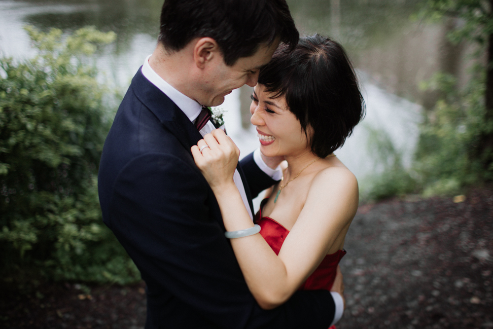 Canal Wedding in Montreal