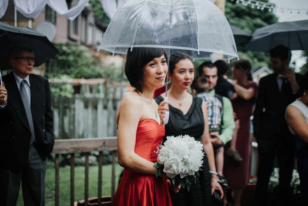 Backyard Wedding in Montreal
