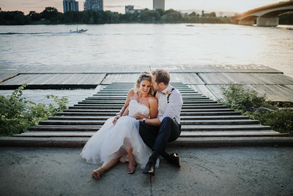 The Ottawa Rowing Club Wedding