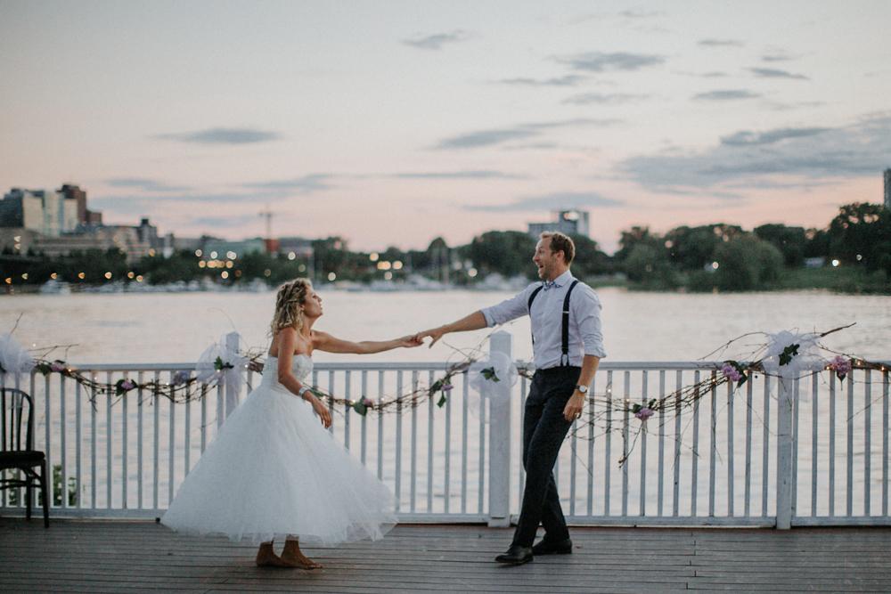 Ottawa Rowing Club Wedding