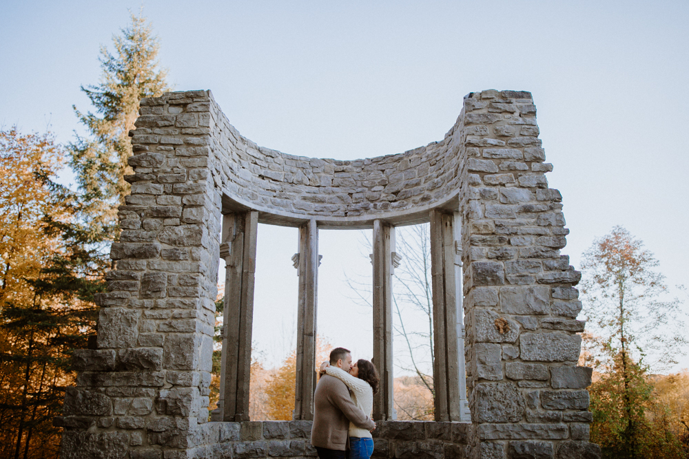 Gatineau Park Engagement photos