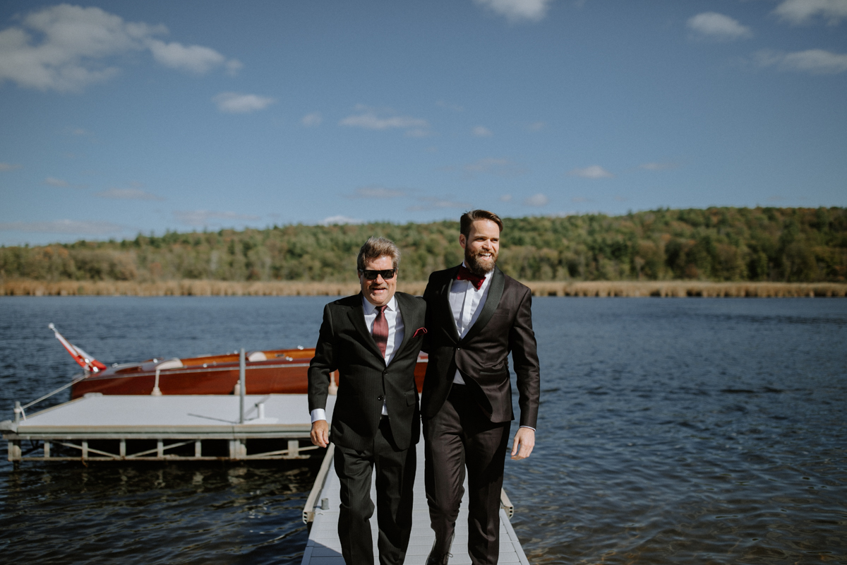 Quebec Cottage wedding