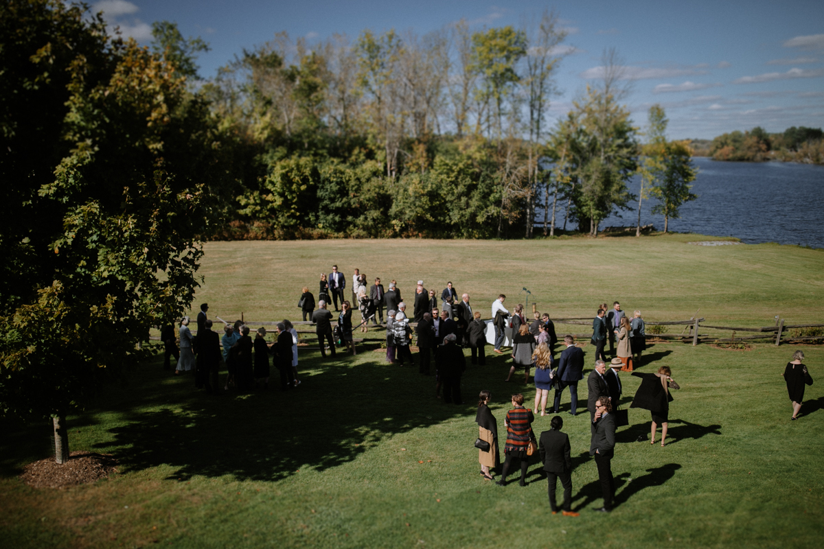 Backyard wedding Ottawa