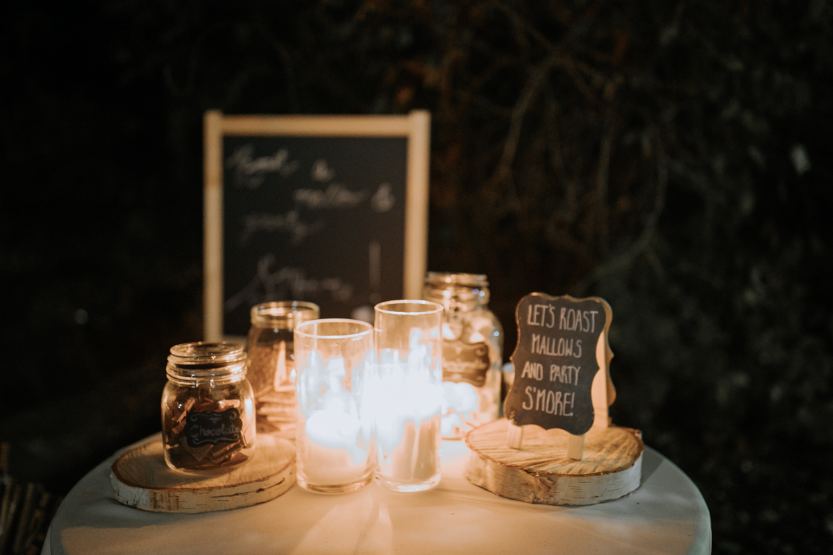 smore station wedding
