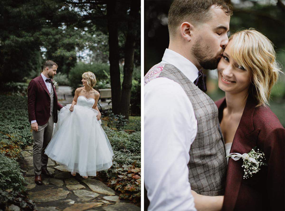 la toundra wedding photos