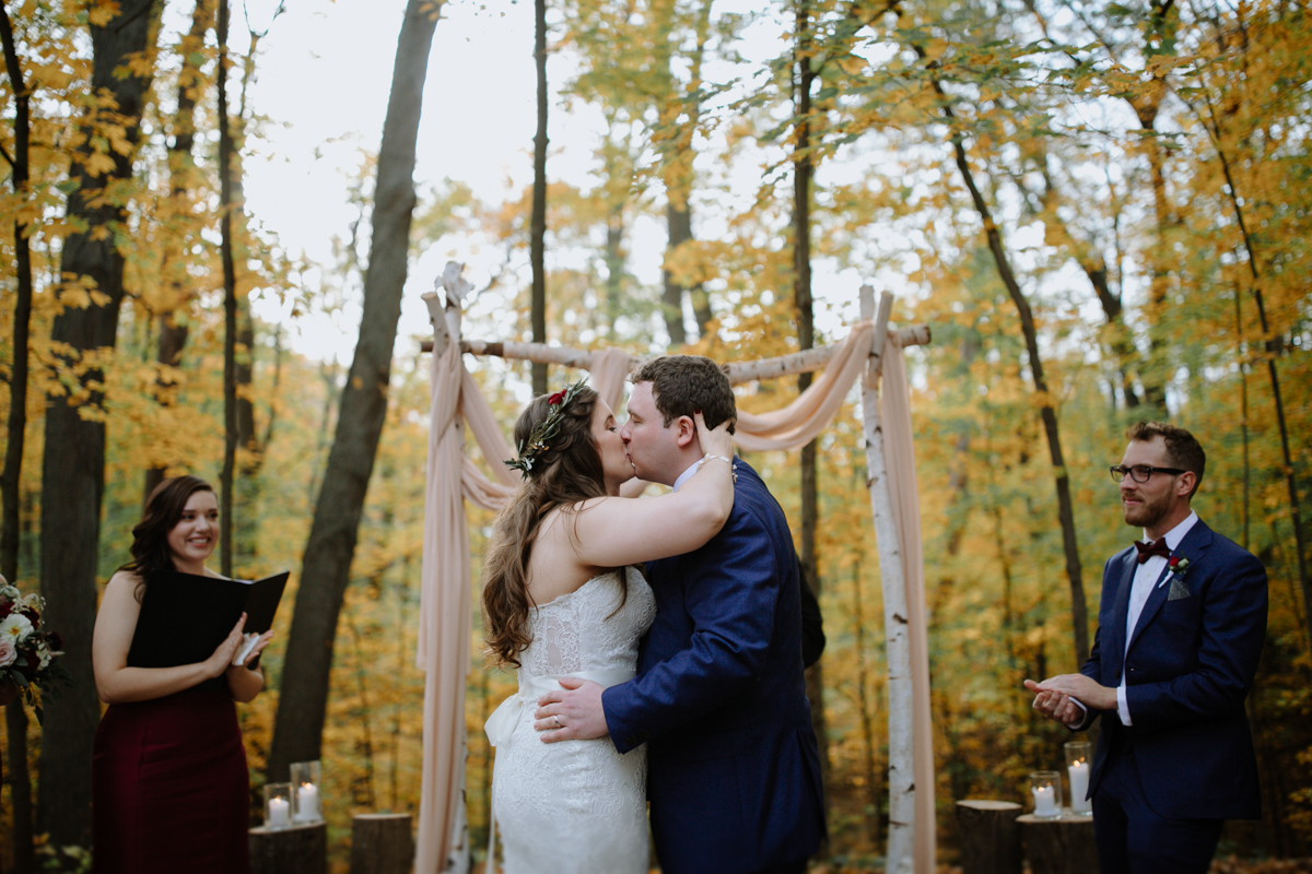 Gatineau park wedding