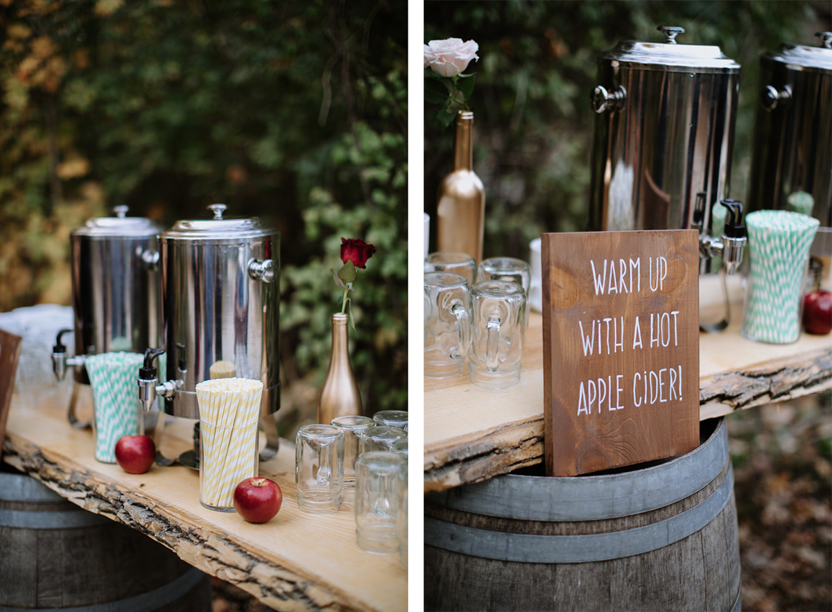 rustic fall wedding ottawa