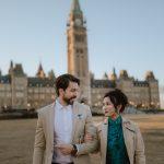Parliament Hill Engagement Photos