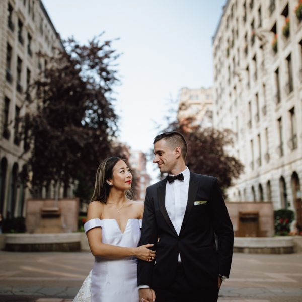 InterContinental Montreal Wedding // La Ruelle des fortifications