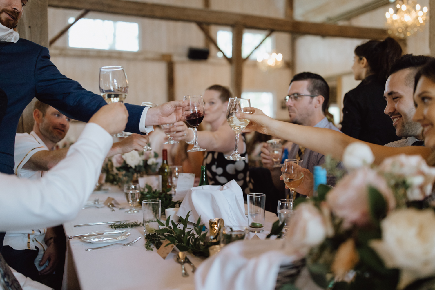 stonefields estate wedding reception