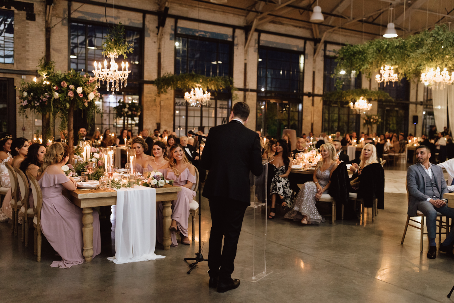Classic wedding at the Horticulture building