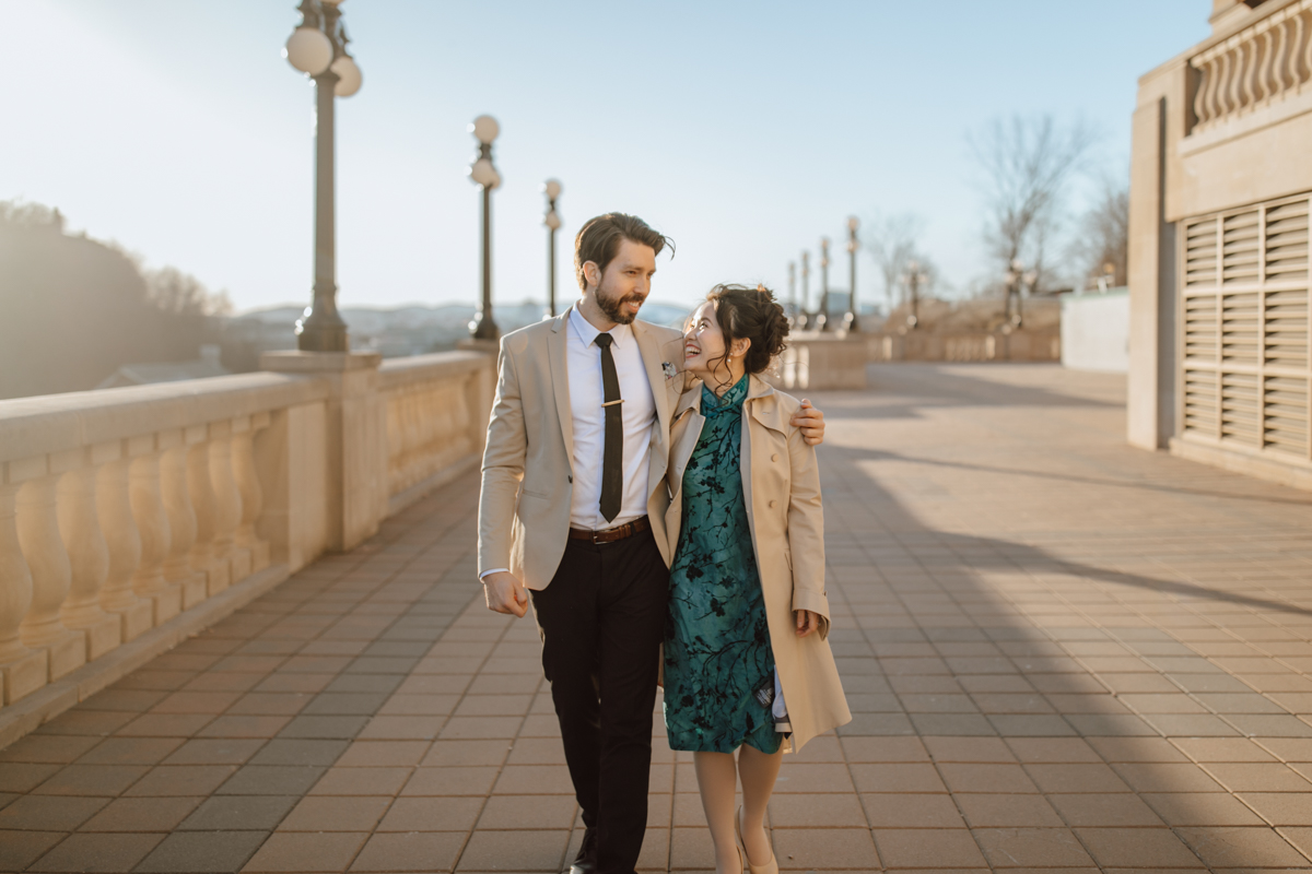 Parliament Hill Engagement Photos