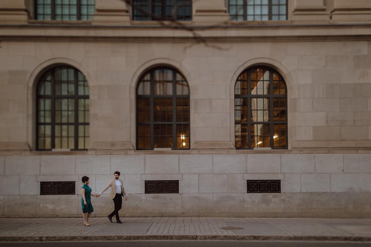 downtown Ottawa engagement photos
