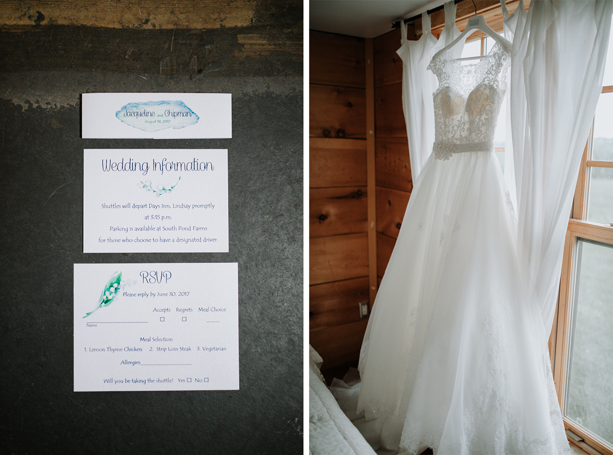 South Pond Farms Wedding details