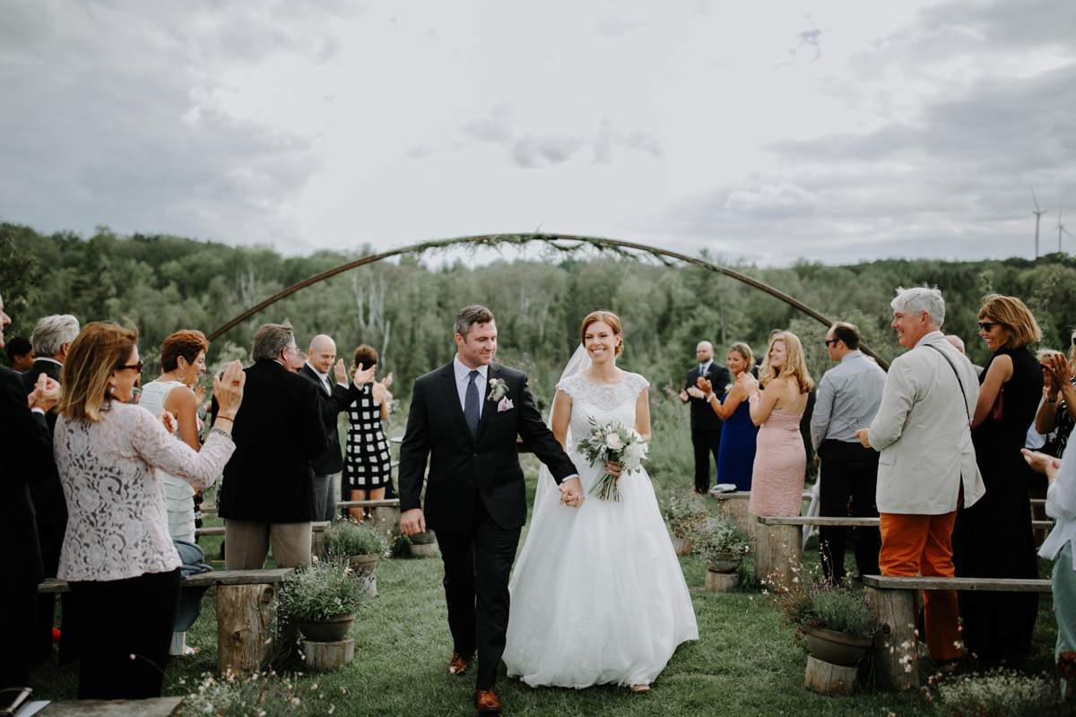 South Pond Farms Wedding ceremony