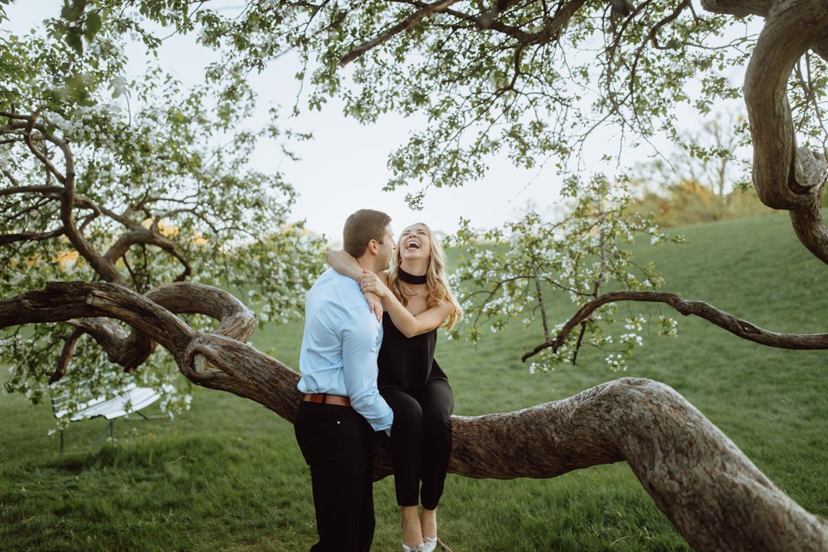 Dominion Arboretum Engagement photos
