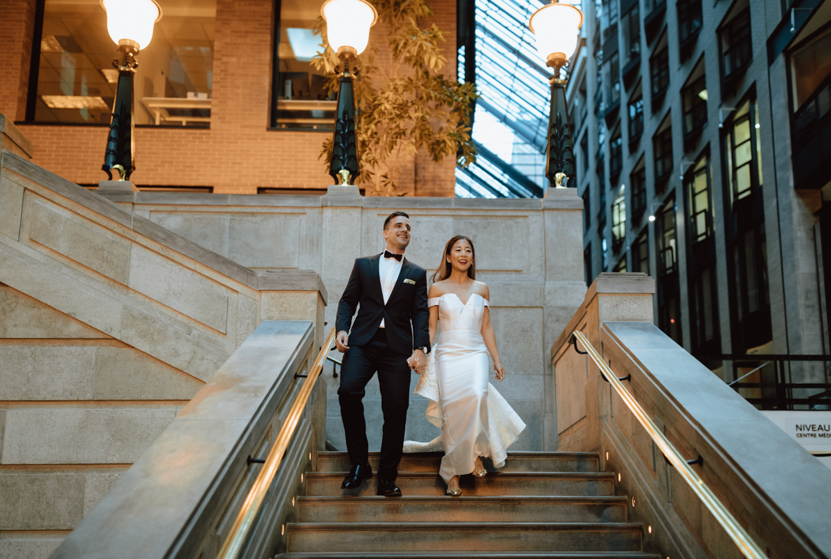 Intercontinental Montreal Wedding