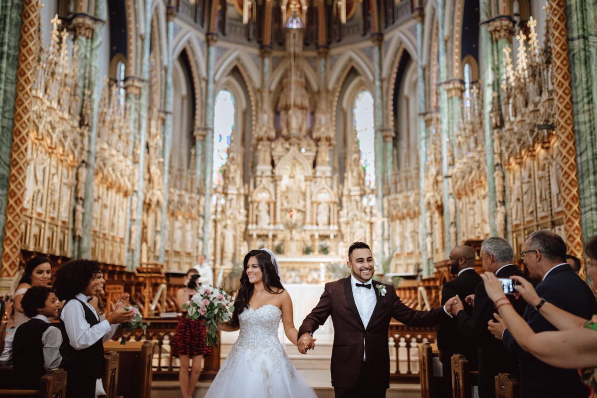 Notre Dame Ottawa wedding