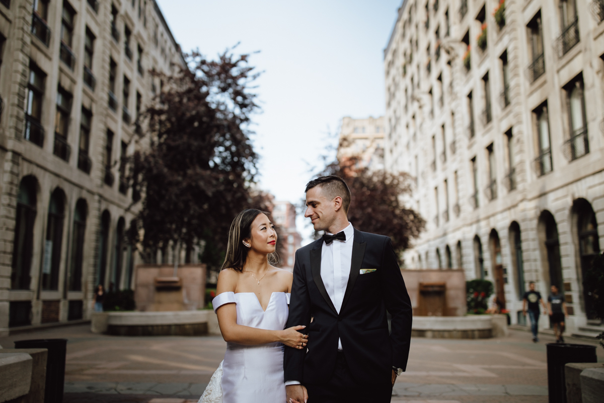 Old Montreal Wedding