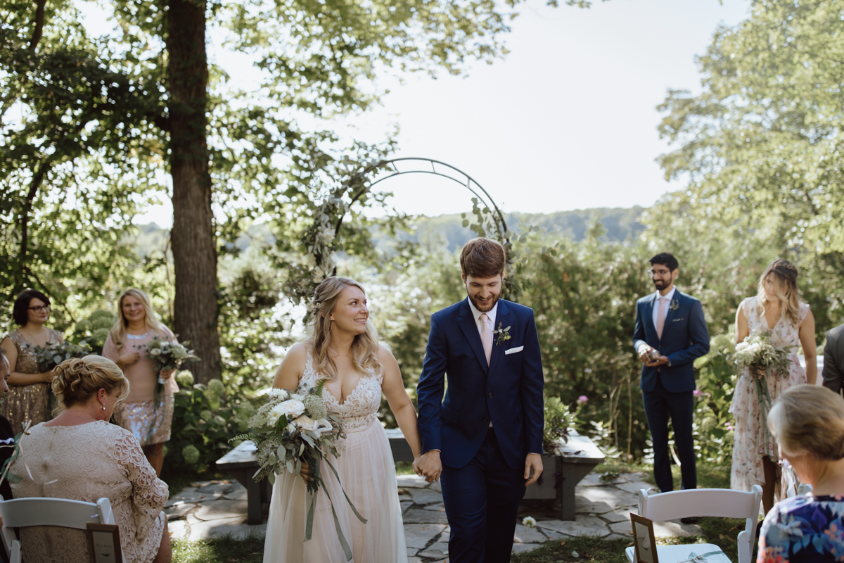 Grange de la gatineau wedding