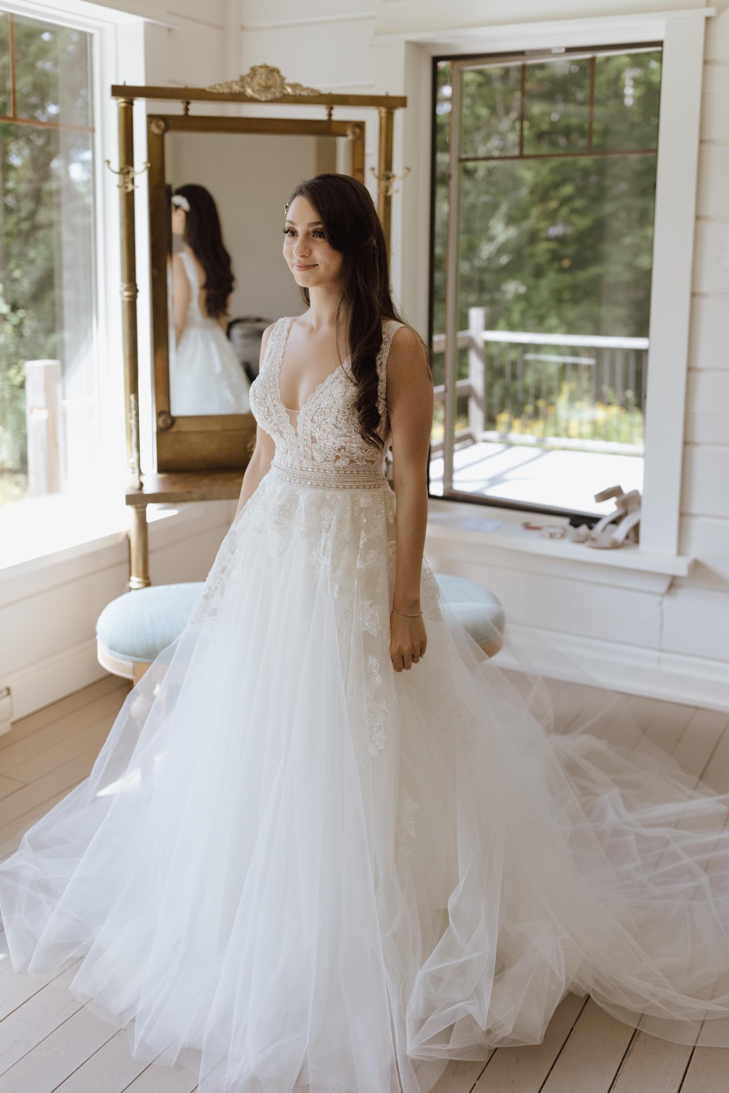 Le Belvédère bride
