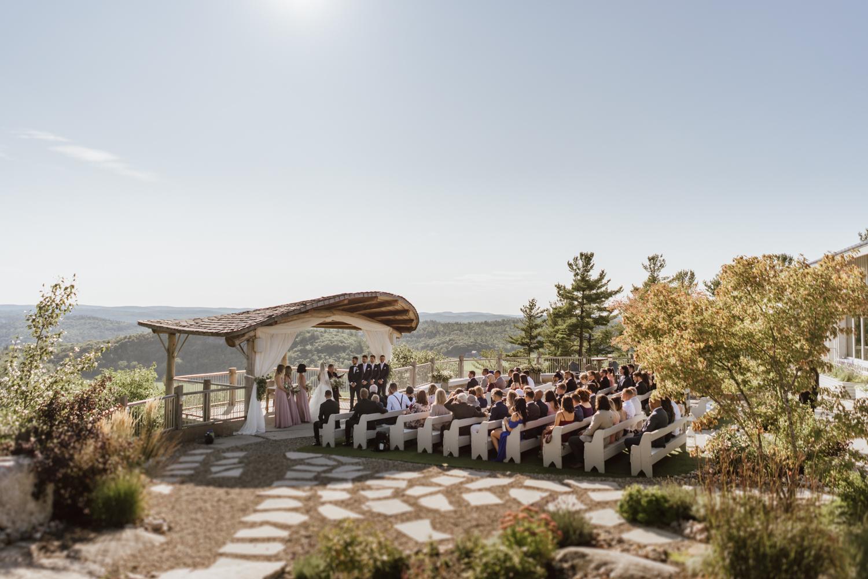 Le Belvédère ceremony
