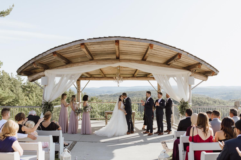 Le Belvédère Wedding ceremony